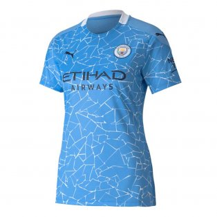 2020-2021 Manchester City Puma Home Ladies Shirt