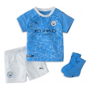 2020-2021 Manchester City Home Baby Kit