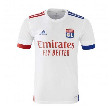 2020-2021 Olympique Lyon Adidas Home Football Shirt (Kids)