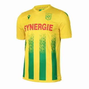 2020-2021 Nantes Authentic Home Match Shirt