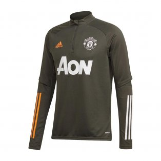 2020-2021 Man Utd Adidas Training Top (Green)