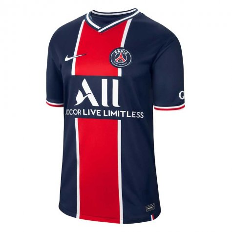 2020-2021 PSG Home Nike Football Shirt