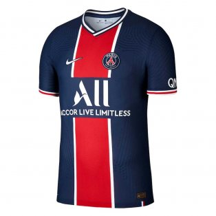 2020-2021 PSG Authentic Vapor Match Home Nike Shirt