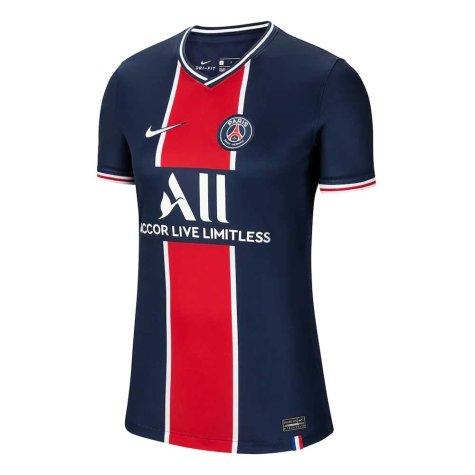 2020-2021 PSG Home Nike Womens Football Shirt