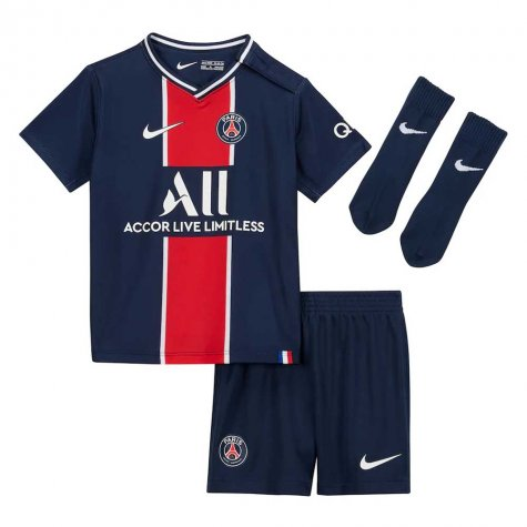 2020-2021 PSG Home Nike Baby Kit
