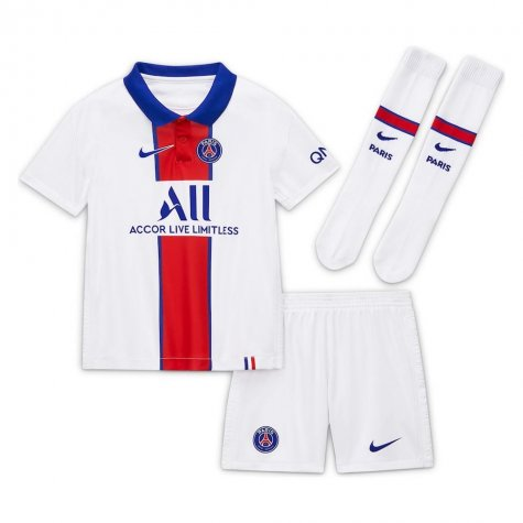 2020-2021 PSG Away Nike Little Boys Mini Kit