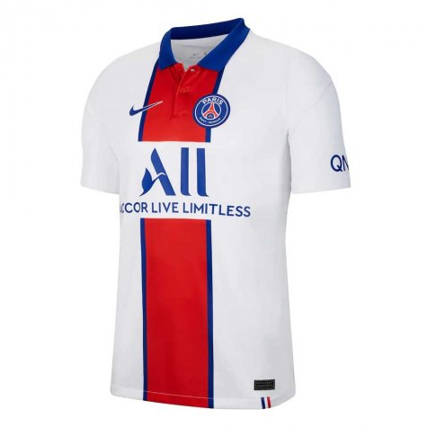 2020-2021 PSG Away Nike Football Shirt