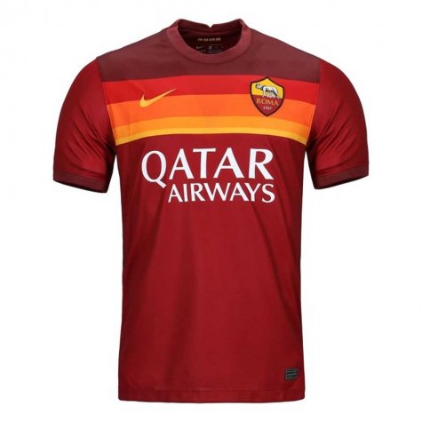 2020-2021 AS Roma Home Nike Football Shirt (Kids)