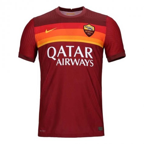 2020-2021 Roma Authentic Vapor Match Home Nike Shirt