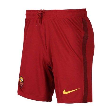 2020-2021 AS Roma Home Nike Football Shorts (Kids)