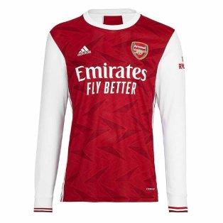 2020-2021 Arsenal Adidas Home Long Sleeve Shirt