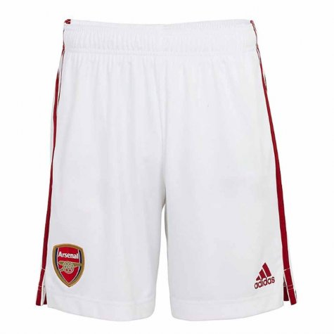 2020-2021 Arsenal Adidas Home Shorts (White)