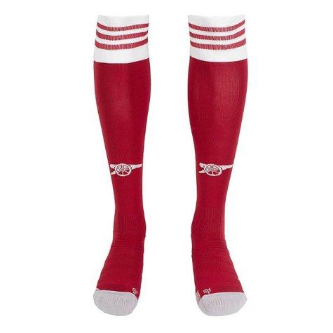 2020-2021 Arsenal Adidas Home Socks (Red)