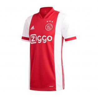 2020-2021 Ajax Adidas Home Football Shirt