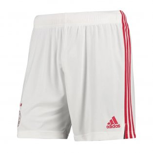 2020-2021 Ajax Adidas Home Shorts (Red) - Kids
