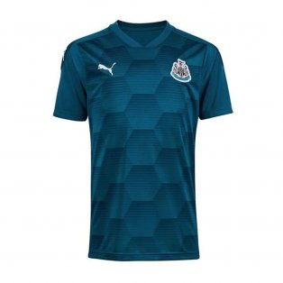 2020-2021 Newcastle Home Goalkeeper Shirt Lagoon (Kids)