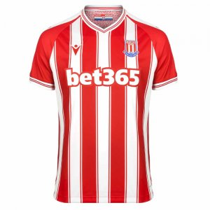 2020-2021 Stoke City Macron Home Football Shirt
