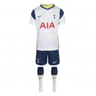 2020-2021 Tottenham Home Nike Little Boys Mini Kit