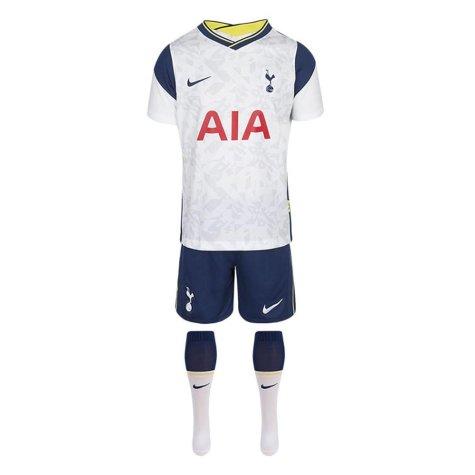 2020-2021 Tottenham Home Nike Little Boys Mini Kit