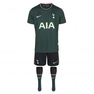 2020-2021 Tottenham Away Nike Little Boys Mini Kit