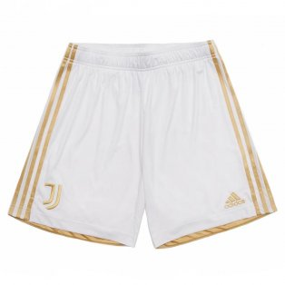 2020-2021 Juventus Adidas Home Shorts (White)