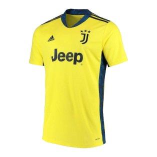 2020-2021 Juventus Adidas Goalkeeper Shirt (Kids)