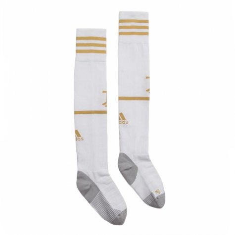 2020-2021 Juventus Adidas Home Football Socks (White)