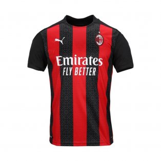 2020-2021 AC Milan Puma Home Football Shirt