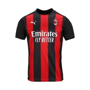 2020-2021 AC Milan Puma Home Shirt (Kids)