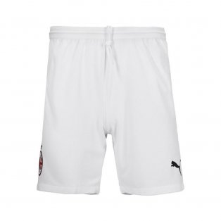 2020-2021 AC Milan Puma Home Shorts (White)