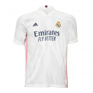 2020-2021 Real Madrid Adidas Home Football Shirt
