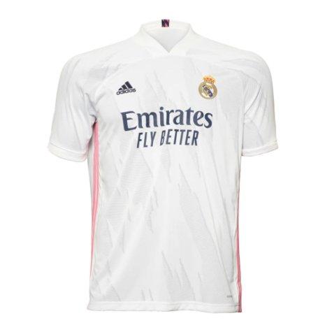 2020-2021 Real Madrid Adidas Home Football Shirt