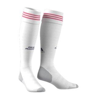 2020-2021 Real Madrid Adidas Home Socks (White)
