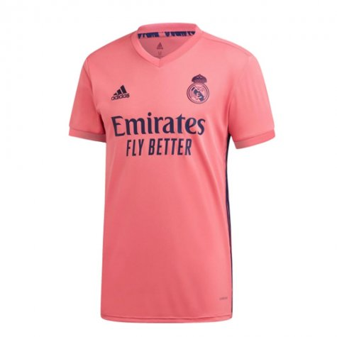 2020-2021 Real Madrid Adidas Away Football Shirt