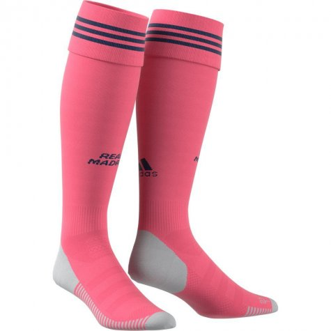 2020-2021 Real Madrid Adidas Away Socks (Pink)
