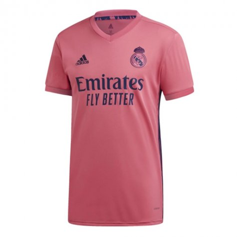 2020-2021 Real Madrid Adidas Womens Away Shirt