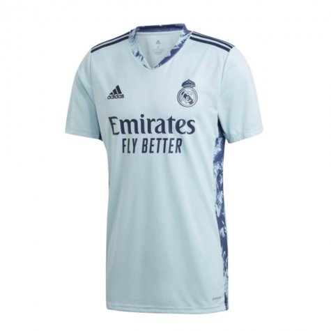 2020-2021 Real Madrid Home Goalkeeper Shirt (Kids)