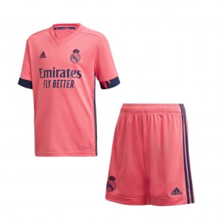 2020-2021 Real Madrid Adidas Away Full Kit (Kids)