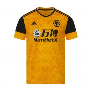 2020-2021 Wolves Home Football Shirt