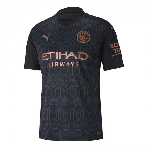 2020-2021 Manchester City Puma Away Football Shirt