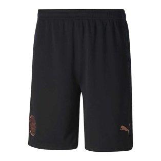 2020-2021 Manchester City Away Football Shorts (Black)