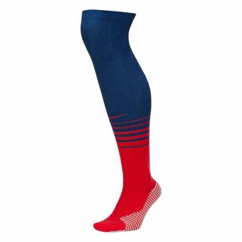 2020-2021 Atletico Madrid Nike Away Socks (Blue)