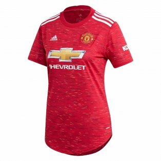 2020-2021 Man Utd Adidas Womens Home Shirt
