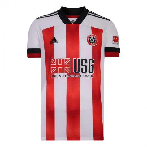 2020-2021 Sheffield United Adidas Home Football Shirt