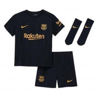 2020-2021 Barcelona Away Nike Baby Kit