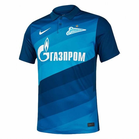 2020-2021 Zenit St Petersburg Home Nike Shirt (Kids)