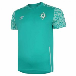 2020-2021 Werder Bremen Training Jersey (Green)