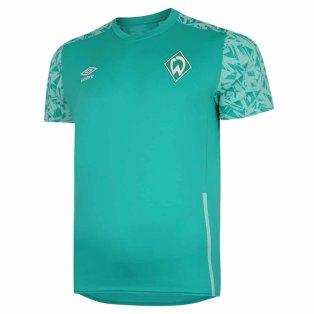 2020-2021 Werder Bremen Training Jersey (Green)