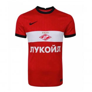 2020-2021 Spartak Moscow Home Nike Football Shirt