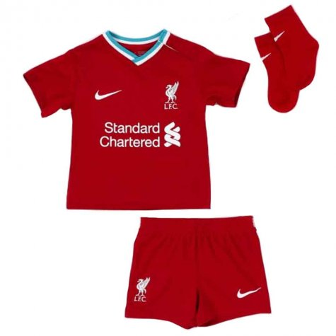 2020-2021 Liverpool Home Nike Baby Kit